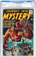 Silver Age (1956-1969):Horror, Journey Into Mystery #63 (Atlas, 1960) CGC FN 6.0 Off-white towhite pages....