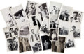 Movie/TV Memorabilia:Photos, A Frank Sinatra Group of Mostly Never-Before-Seen Black and White Snapshots, Circa 1944....