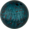 "Movie/TV Memorabilia:Autographs and Signed Items, A Bowling Ball Signed by Cast and Crew Members of ""Kingpin.""..."