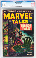 Golden Age (1938-1955):Horror, Marvel Tales #113 (Atlas, 1953) CGC FN- 5.5 Cream to off-whitepages....