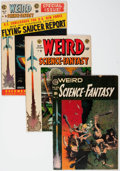 Golden Age (1938-1955):Science Fiction, Weird Science-Fantasy #23-29 Group (EC, 1954-55) Condition: AverageVG+.... (Total: 7 Comic Books)