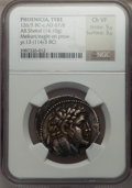 Ancients:Greek, Ancients: PHOENICIA. Tyre. 126/5 BC-AD 65/6. AR shekel (14.10 gm)....