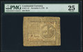 Colonial Notes:Continental Congress Issues, Continental Currency November 2, 1776 $2 PMG Very Fine 25.. ...