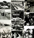 Books:Prints & Leaves, [World War II: Japanese Internment]. Archive of ApproximatelySeventy-Five Photographs and Press Prints Relating to the Intern...