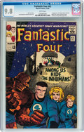 Silver Age (1956-1969):Superhero, Fantastic Four #45 (Marvel, 1965) CGC NM/MT 9.8 White pages....