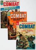Silver Age (1956-1969):War, Combat File Copies Group of 70 (Dell, 1963-73) Condition: Average VF+.... (Total: 70 Comic Books)