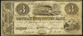 Obsoletes By State:Ohio, Fulton, OH-Orphan Institute's Bank $3 Apr. 2, 1838 G6 Wolka1152-07. ...