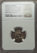 Ancients:Roman Imperial, Ancients: Constantine I (AD 307-337). AR argenteus (3.38 gm)....