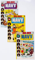 Bronze Age (1970-1979):Humor, Sad Sack Navy Gobs and Gals/Sad Sack with Sarge and Sadie File Copies Group of 76 (Harvey, 1972-73) Condition: Average NM-.... (Total: 77 Comic Books)