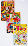 Silver Age (1956-1969):Humor, Bunny File Copies Group of 25 (Harvey, 1968-76) Condition: Average NM-.... (Total: 25 Comic Books)