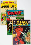 Golden Age (1938-1955):Miscellaneous, Comic Books - Assorted Golden Age Comics Group of 25 (Various Publishers, 1950s) Condition: Average GD.... (Total: 25 Comic Books)