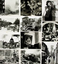 Books:Prints & Leaves, [World War II: England]. Archive of Approximately 115 Photographsand Press Prints Relating to England during World War Two....