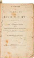 Books:Americana & American History, Theodore Noel. A Campaign From Santa Fe to the Mississippi;Being a History of the Old Sibley Brigade From Its First Org...