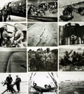 Books:Prints & Leaves, [World War II: Normandy Invasion]. Archive of Approximately 185Photographs and Press Prints Relating to the Normandy Invasion...