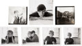 Music Memorabilia:Photos, Beatles - Seven Astrid Kirchherr Signed Snapshots of The Beatles,Stuart Sutcliffe and others (Circa 1960-1961).... (Total: 7 )