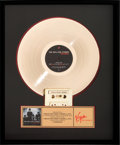 Music Memorabilia:Awards, Rolling Stones Stripped Gold Record Award (Virgin V 2801,1995)....