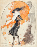 Mainstream Illustration, Georges Paul Gaston Leonnec (French, b. 1870). Les Prè-Midi D'unFaune, La Vie Parisienne magazine cover, October 11, 19...(Total: 2 Items)