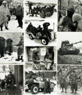 Books:Prints & Leaves, [World War II: Battle of the Bulge]. Archive of Approximately 155Photographs and Press Prints Relating to the Battle of the B...