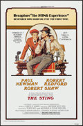 "Movie Posters:Crime, The Sting (Universal, R-1977). One Sheet (27"" X 41"") Flat Folded.Crime.. ..."
