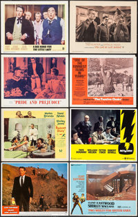 """Escape from Alcatraz & Others Lot (Paramount, 1979). Lobby Cards (Approx. 180) (11"""" X 14"""") & Color Pho..."""