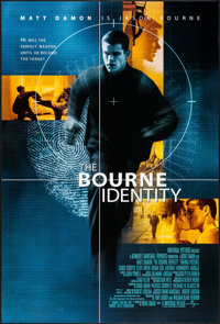 """The Bourne Identity & Other Lot (Universal, 2002). One Sheets (2) (27"""" X 40"""") DS Advance. Action..."""