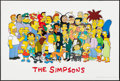 """Movie Posters:Animation, The Simpsons (20th Century Fox, 1994/1995). Television One Sheets (2) (27"""" X 39.75"""" & 27"""" X 40""""). Animation.. ... (Total: 2 Items)"""