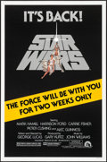 "Movie Posters:Science Fiction, Star Wars (20th Century Fox, R-1981). One Sheet (27"" X 41"").Science Fiction.. ..."