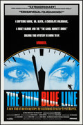 """Movie Posters:Documentary, The Thin Blue Line (Hemisphere Pictures, 1988). One Sheet (27"""" X 41""""). Documentary.. ..."""