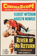 "Movie Posters:Western, River of No Return (20th Century Fox, 1954). One Sheet (27"" X 41""). Western.. ..."