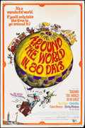 """Movie Posters:Adventure, Around the World in 80 Days (United Artists, R-1968). Poster (40"""" X60"""") and Trimmed Poster (40"""" X 50""""). Adventure.. ... (Total: 2Items)"""