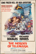 """Movie Posters:War, The Heroes of Telemark & Others Lot (Columbia, 1966). Posters(3) (40"""" X 60""""). War.. ... (Total: 3 Items)"""