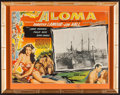 "Movie Posters:Adventure, Aloma of the South Seas (Paramount, 1941). Mexican Lobby Card inFrame (Frame Size: 15"" X 19""). Adventure.. ..."