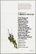 "Movie Posters:War, A Bridge Too Far & Others Lot (United Artists, 1977). OneSheets (5) (27"" X 41"") Advance. War.. ... (Total: 5 Items)"