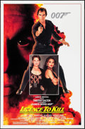 "Movie Posters:James Bond, Licence to Kill (United Artists, 1989). One Sheet (27"" X 41"").James Bond.. ..."
