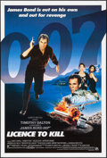 "Movie Posters:James Bond, Licence to Kill (United Artists, 1989). International One Sheet (27"" X 41""). James Bond.. ..."