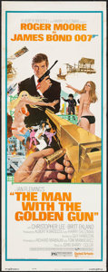 """Movie Posters:James Bond, The Man with the Golden Gun (United Artists, 1974). Insert (14"""" X 36""""). James Bond.. ..."""