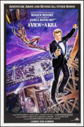 "Movie Posters:James Bond, A View to a Kill (United Artists, 1985). One Sheet (27"" X 41"")Advance. James Bond.. ..."