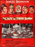 "Movie Posters:Drama, The Fall of the Roman Empire (Rank, 1964). French Grande (45.5"" X 62.5"") Style A. Drama.. ..."
