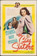 """Movie Posters:Drama, The Gay Sisters (Warner Brothers, 1942). One Sheet (27"""" X 41"""").Drama.. ..."""