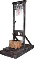 Music Memorabilia:Props, Alice Cooper Stage-Used Guillotine from the Billion Dollar Babies Tour (1973)....