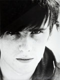 Music Memorabilia:Photos, Beatles - Astrid Kirchherr Signed Photograph of Stuart Sutcliffe(Hamburg,1960).... (Total: 2 Items)