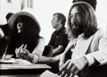 Music Memorabilia:Photos, Beatles - Three Günter Zint Photographs of John Lennon And Yoko Ono(Montreux,1968).... (Total: 3 )