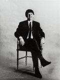 Music Memorabilia:Photos, Beatles - Astrid Kirchherr Signed Photograph of Ringo Starr(Hamburg, 1962),...