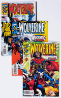 Modern Age (1980-Present):Superhero, Wolverine #131-151 Multiple Copies Long Box Group (Marvel, 1990s)Condition: Average NM-....