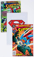 Modern Age (1980-Present):Superhero, Adventures of Superman Long Box Group (DC, 1990s) Condition:Average NM-....