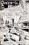 """Original Comic Art:Complete Story, Al McWilliams Secrets of Haunted House #35 """"Queen of theDead World"""" Complete 7-Page Story Original Art (DC, 1981)...(Total: 7 Original Art)"""