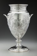 Silver Holloware, British:Holloware, An Elkington Weighted Silver Vase Presented by Queen Victoria toher Daughter Princess Helena, Birmingham, England, circa 18...