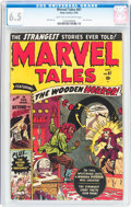 Golden Age (1938-1955):Horror, Marvel Tales #97 (Atlas, 1950) CGC FN+ 6.5 Light tan to off-whitepages....