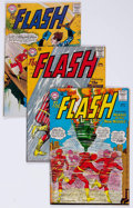 Silver Age (1956-1969):Superhero, The Flash Group of 24 (DC, 1963-72) Condition: Average VG/FN....(Total: 24 Comic Books)