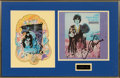 Music Memorabilia:Autographs and Signed Items, Donovan Signed A Gift from a Flower to a Garden LP Cover inFramed Display. ...